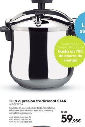 Oferta de Olla a presión Magefesa por 59,95€