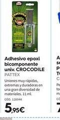 Oferta de Adhesivos Pattex por 5.95€