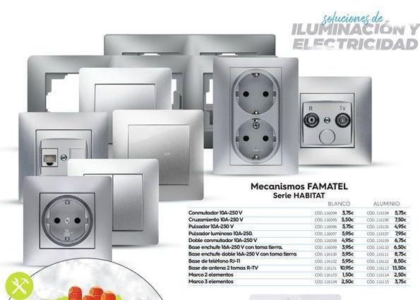 Oferta de Conmutadores famatel por 3.75€