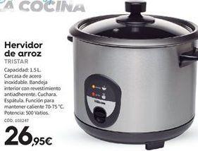 Oferta de Hervidor de arroz Tristar por 26.95€