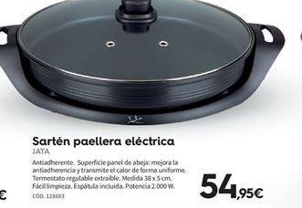 Oferta de Paellera eléctrica Jata por 54.95€