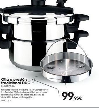 Oferta de Olla a presión Magefesa por 99,95€