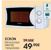 Oferta de Ecron microondas MM720 por 49.9€