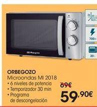 Oferta de Orbegozo microondas mi 2018 por 59.9€