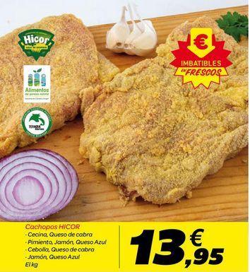 Oferta de Cachopos HICOR por 13.95€