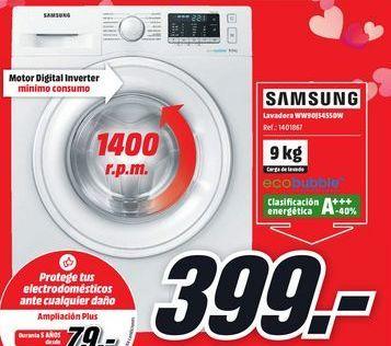 Oferta de Lavadora Samsung por 399€