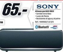 Oferta de Altavoces bluetooth Sony por 65€