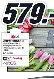 Oferta de Tv led 55'' LG por 579€