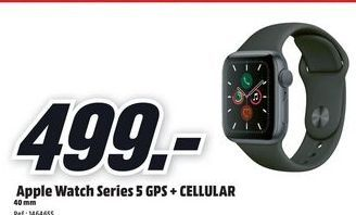 Oferta de Apple Watch por 499€