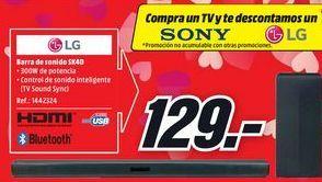 Oferta de Barra de sonido LG por 129€