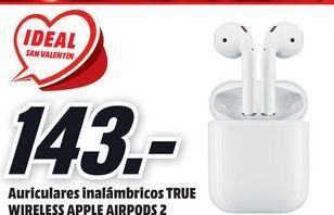 Oferta de Auriculares inalámbricos Apple por 143€