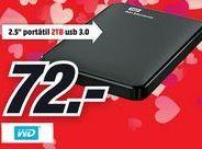 Oferta de Disco duro externo WD por 72€