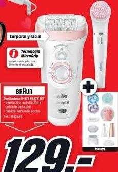Oferta de Depiladora Braun por 129€