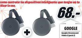 Oferta de ChromeCast Google por 68€