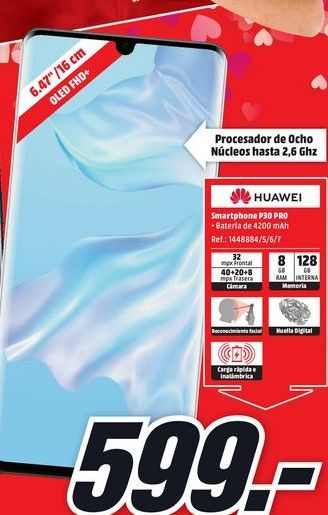 Oferta de Smartphones Huawei por 599€