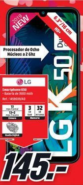 Oferta de Smartphones LG por 145€