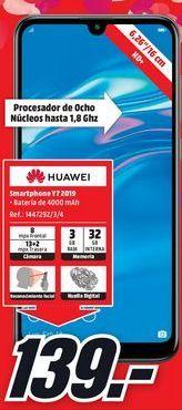 Oferta de Smartphones Huawei por 139€