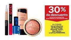 Oferta de Productos de maquillaje rimmel, astor, max factor y cofres marwins  por