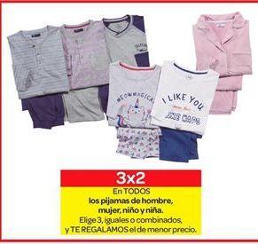 Oferta de Pijamas de hombre, mujer, niño o niña por