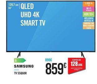 Oferta de Smart tv Samsung por 859€