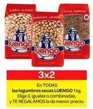 Oferta de En TODAS las legumbres secas LUENGO por