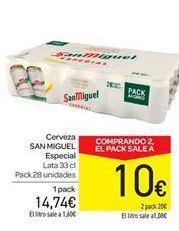 Oferta de Cerveza San Miguel por 14.74€