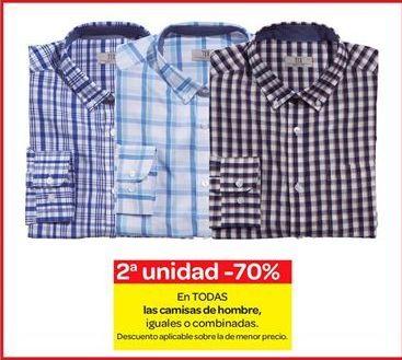 Oferta de En TODAS las camisas de hombre por