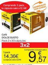 Oferta de Café Dolce Gusto por 14.36€