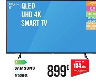 Oferta de Smart tv Samsung por 899€