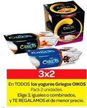 Oferta de Yogur griego OIKOS por