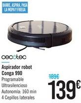 Oferta de Aspirador robot cecotec por 139€