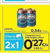 Oferta de Cerveza Amstel por 0.54€