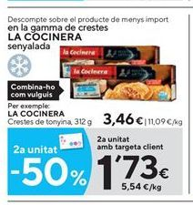 Oferta de Empanadillas de atún La Cocinera por 3.46€