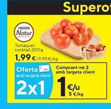 Oferta de Tomates eroski natur por 1.99€