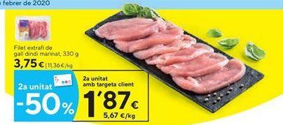 Oferta de Filetes de pavo por 3.75€