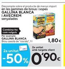 Oferta de Caldo casero Gallina Blanca por 1.8€