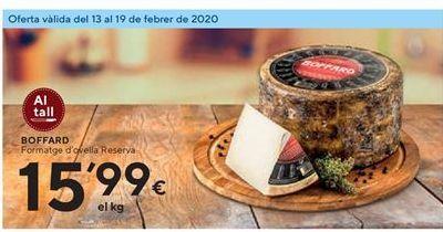 Oferta de Queso de oveja Boffard por 15.99€