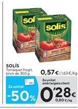 Oferta de Tomate frito Solís por 0.57€