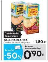 Oferta de Caldo Gallina Blanca por 1.8€