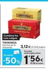 Oferta de Té Twinings por 3.12€