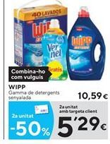 Oferta de Detergente Wipp por 10.59€