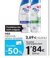 Oferta de Champú h&s por 3.69€
