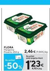 Oferta de Margarina Flora por 2.46€