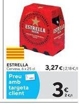 Oferta de Cerveza Estrella por 3.27€