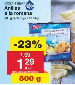 Oferta de Anillas de calamar ocean sea por 1.3€