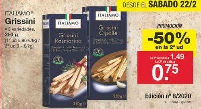 Oferta de Snacks Italiamo por 1.12€