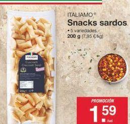 Oferta de Snacks Italiamo por 1.59€
