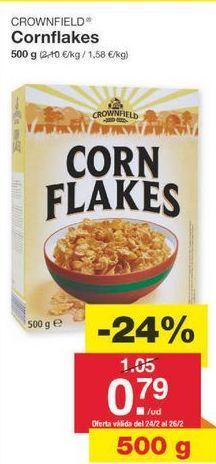 Oferta de Cereales Crownfield por 0.8€
