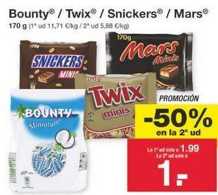 Oferta de Chocolatinas por 1.49€