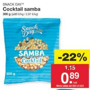 Oferta de Snacks Snack Day por 0.9€